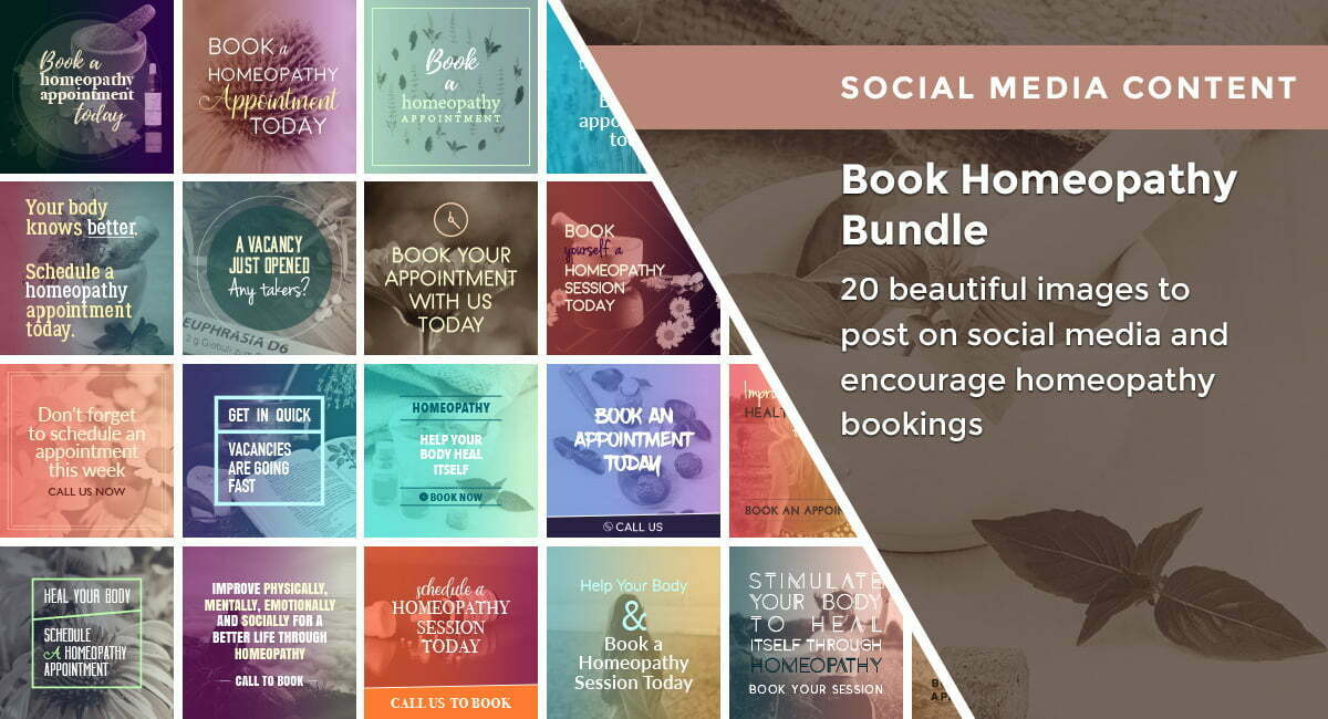 Book Homeopathy Bundle | By Healthinomics
