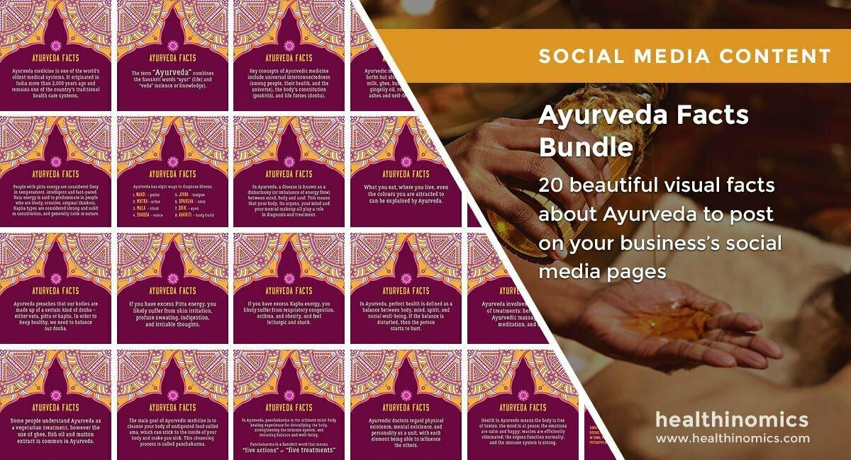 Ayurveda Facts Bundle| By Healthinomics