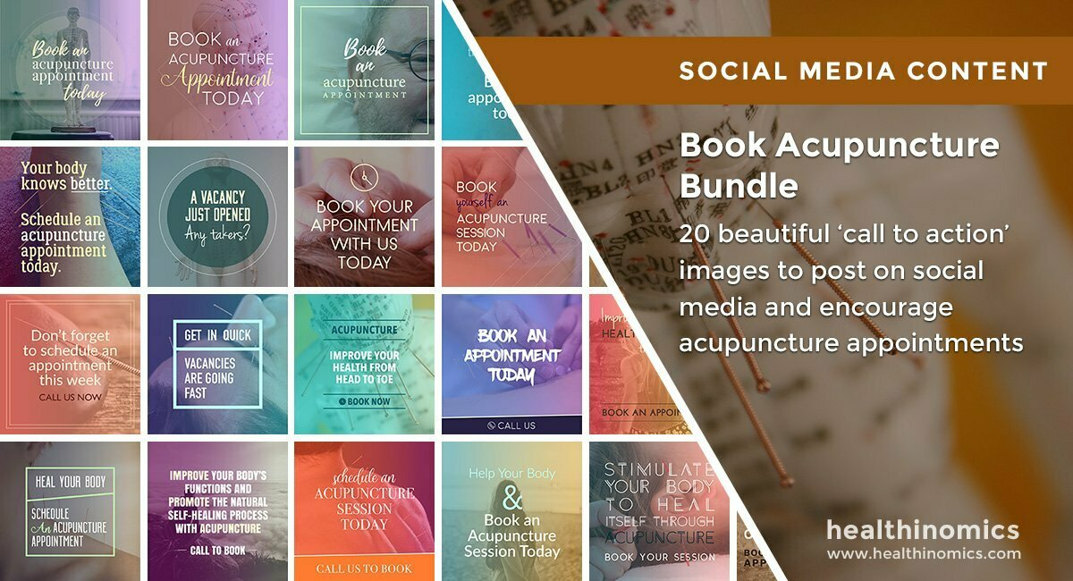 Book Acupuncture Bundle | By Healthinomics