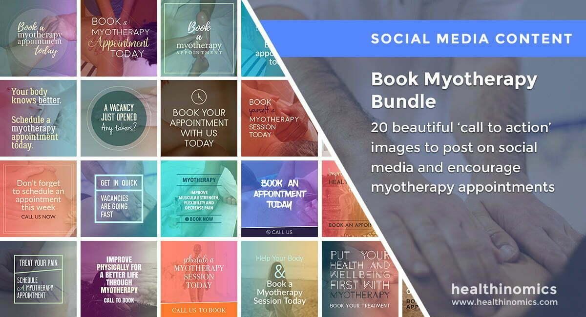 Book Myotherapy Bundle | By Healthinomics