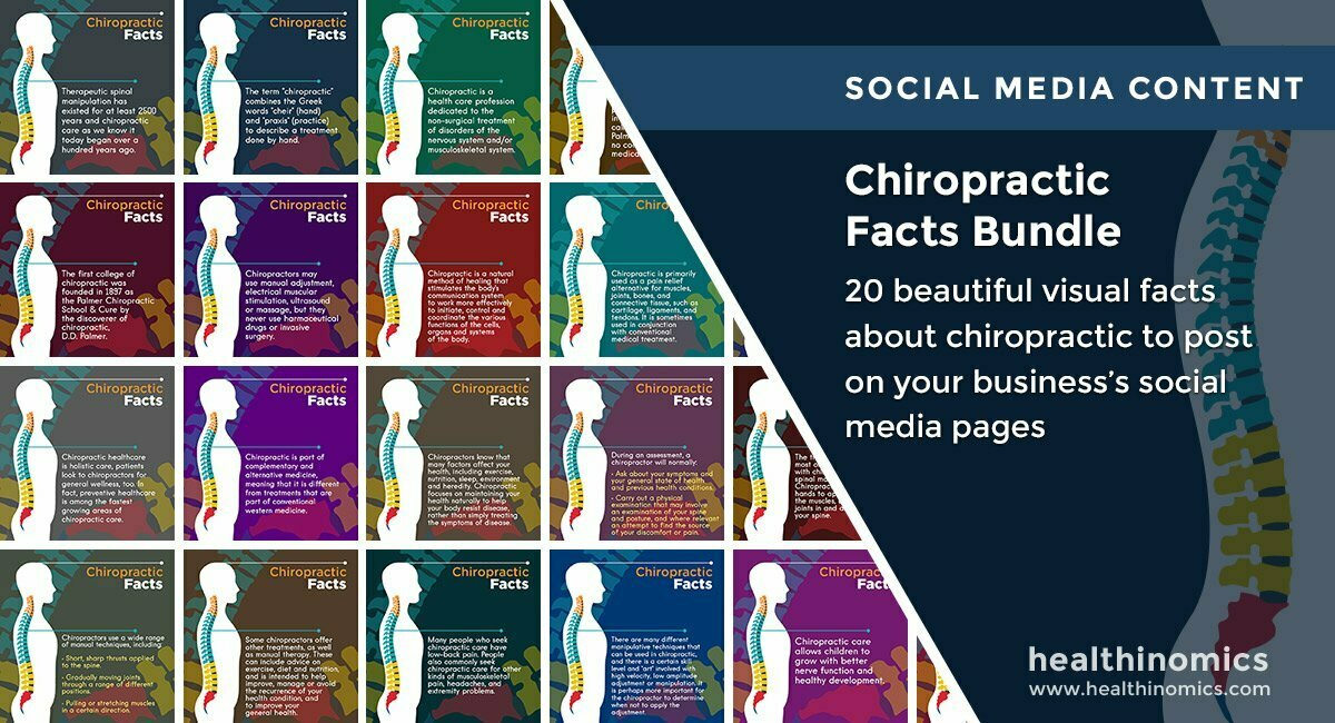Chiropractic Facts Bundle | By Healthinomics