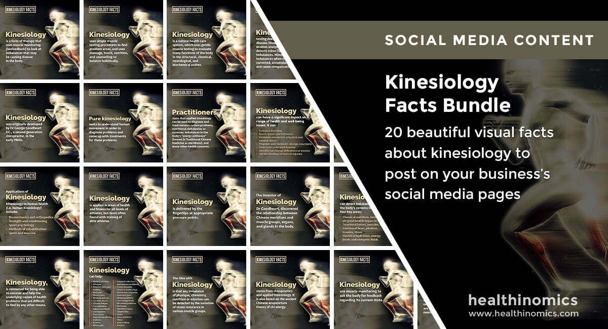 Kinesiology Facts Bundle | By Healthinomics