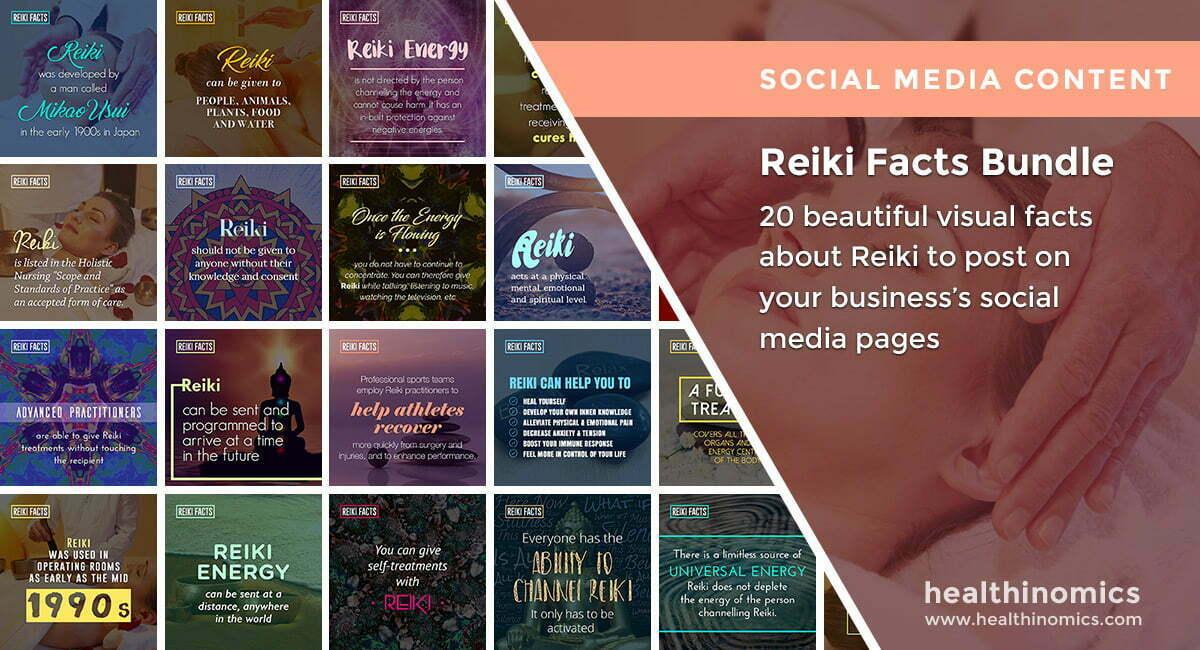 Reiki Facts Bundle |By Healthinomics