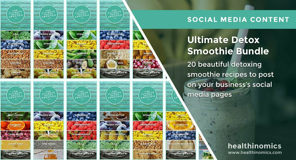 Ultimate Detox Smoothie Bundle | By Healthinomics