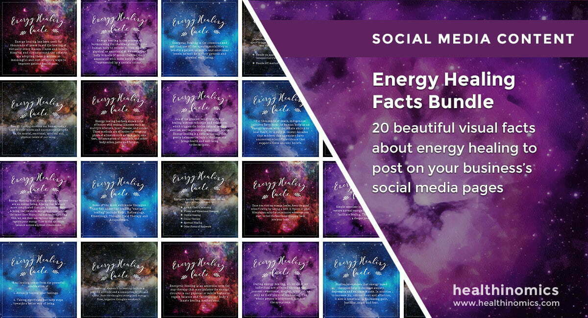 Energy Healing Facts Bundle | By Healthinomics