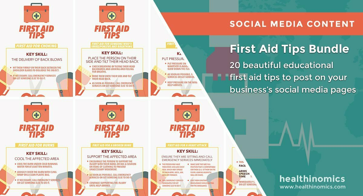 First Aid Tips Bundle | By Healthinomics