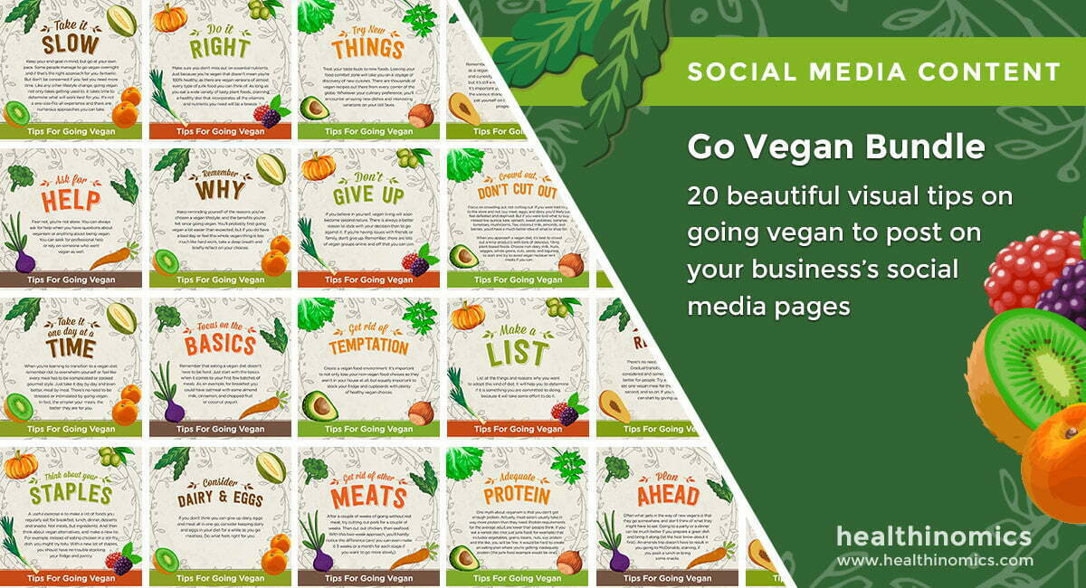 Go Vegan Bundle | By Healthinomics