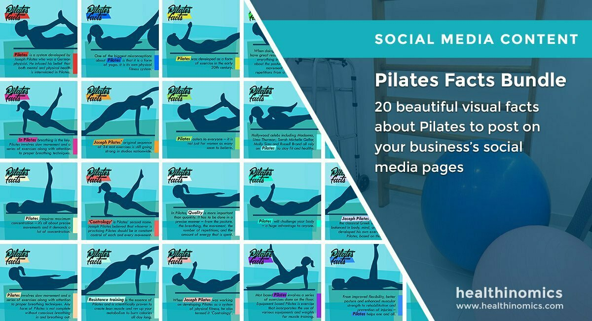 Pilates Facts Bundle | By Healthinomics