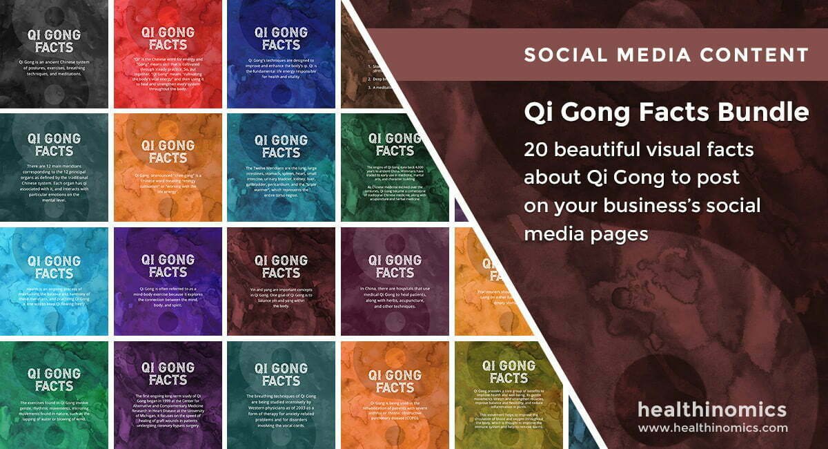 Qi Gong Facts Bundle | By Healthinomics
