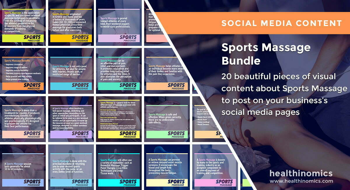 Sports Massage Bundle | By Healthinomics